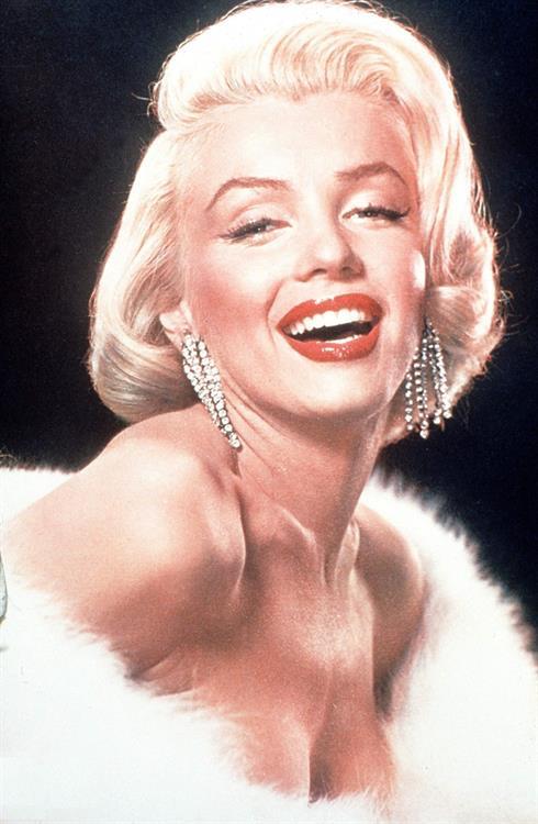 beautiful miss marilyn monro - 411×677
