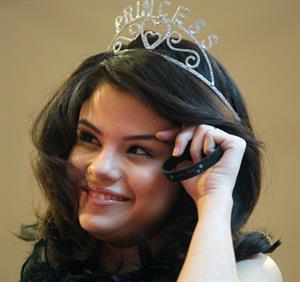 Selena Gomez at the Emerald Square Mall in North Attleborough MA on February 13, 2010