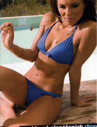 Kara Tointon in a bikini